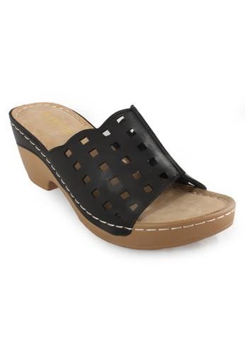 Clarette black Clarette Sandal Kaitlyn Black CL076SH12CLZID_1