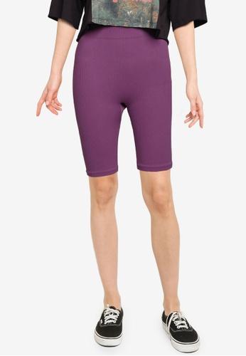 Vero Moda purple Eve Color Shorts C3F79AA6D8667BGS_1