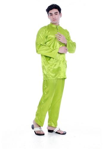 Amar Amran green Baju Melayu Maher Zain AM362AA59TIUMY_1
