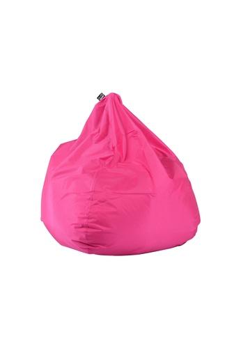 doob pink PLOP - teardrop-shaped spill-proof doob bean bag (Candy Pink) FE2D5HL51BBBCEGS_1