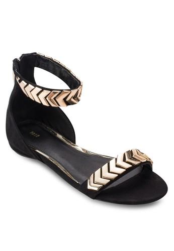 esprit童裝門市金飾繞踝涼鞋, 女鞋, 涼鞋