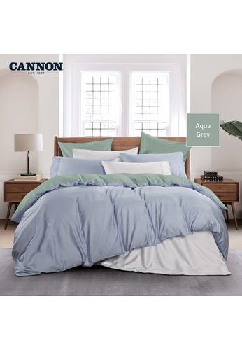 CANNON CANNON Morrison Ceasari - Aqua Gray (Quilt Cover Set). 51A6FHL185B7B7GS_1