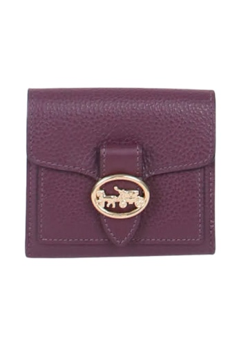 Coach purple Coach Small Georgie 6654 Wallet In Boysenberry 7AACBAC73972CDGS_1