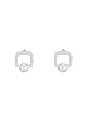 niko and ... silver Pendant Square Earrings FE073AC82D1604GS_1