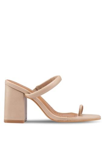 Rubi 綠色 Tina Toe Post Heels CC25BSHA3D8E3DGS_1