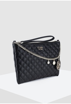c5dd0506d 40% OFF Guess Spring Fever Top Zip Crossbody Bag RM 359.00 NOW RM 214.90  Sizes One Size