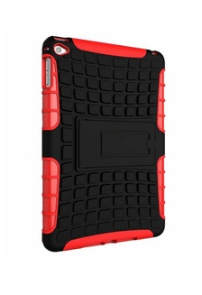 ca3b5ba59f1 Extreme Protection Rubber Armor Case with Kickstand for Apple iPad Air 2  MobileHub ...
