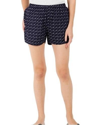 BarBar navy Eilarya Women Short Pants BXRGRLS-07704-E A28BCAACDC05DCGS_1