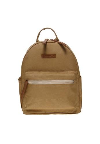 MAYONETTE beige Mayonette Rubi Backpack Canvas - Cream MA831AC29DEOID_1