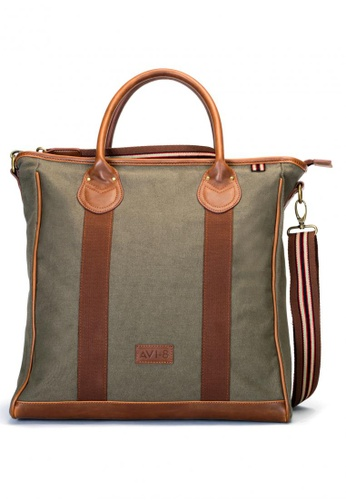 AVI-8 brown Tote Bag   AV642AC63JSAPH_1