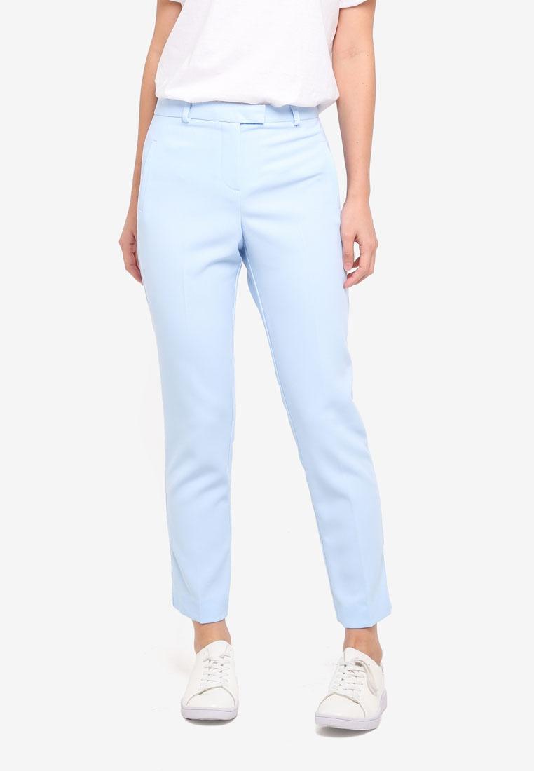 Selfridge Miss Cigarette Blue Blue Split Pants fPdqwUP