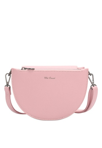 Wild Channel pink Casual Sling Bag E8315ACDF3C8A9GS_1