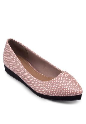 Stacey esprit台灣outlet厚底尖頭平底鞋, 女鞋, 鞋