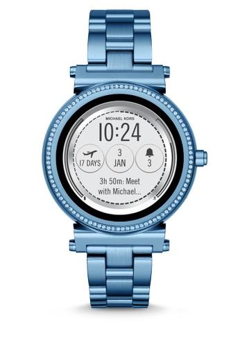 Buy Michael Kors Michael Kors Sofie Blue Smart Watch Mkt5042 Online
