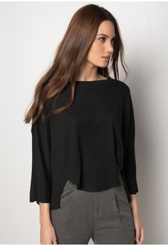 Lad Quarter Sleeves Jersey Loose Top