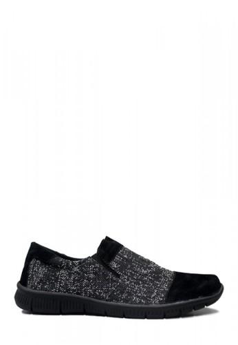D-Island black D-Island Shoes Low Donald Comfort Denim Black 7358DSHCAB93ACGS_1