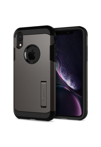 Spigen grey Spigen Tough Armor Case for Apple iPhone XR - Gunmetal 16716ES34946E2GS_1