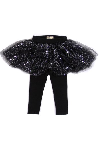 Moejoe black MOEJOE Alina Tutu Skirt with Legging 082B2KA8B55C2CGS_1