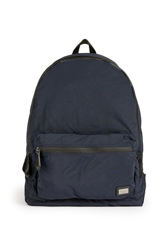 TED BAKER navy Ted Baker Foldable Backpack 8D3F8AC40FA5EDGS_1