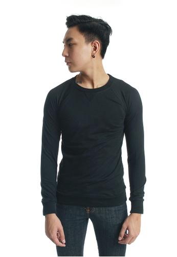 Praise black Long Sleeves Cut & Sew PR067AA73KJYSG_1