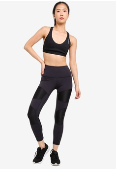 5c433a77b8bb6 18% OFF Reebok Studio Mid Cardio Lux High Rise Rib Tights S$ 79.00 NOW S$  64.90 Sizes S