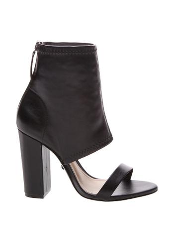 SCHUTZ 黑色 SCHUTZ 露趾短靴型高跟鞋 - MAGGIE (黑色) 1E3DASH52CAA2DGS_1