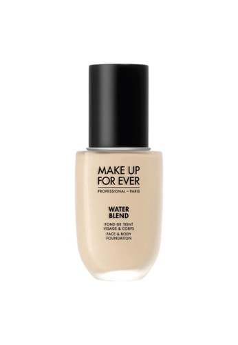MAKE UP FOR EVER beige Water Blend Foundation 50ml Y215 Yellow Albaster A8A30BEFFADE84GS_1