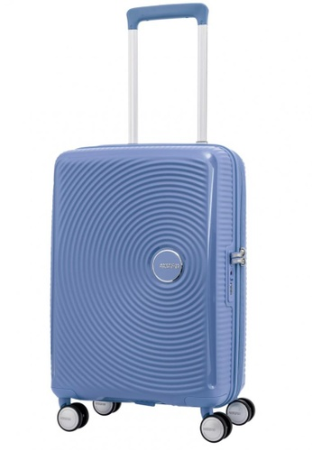 American Tourister blue American Tourister Curio Spinner 55/20 TSA F4468AC0EA387BGS_1