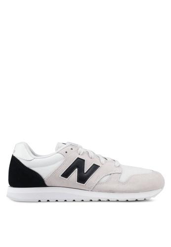 New Balance grey 520 Lifestyle Shoes 02F4BSHEE1097BGS_1