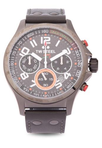 TW Steel black TW430 Sahara Force India Pilot Analog Watch TW310AC0KM8MPH_1