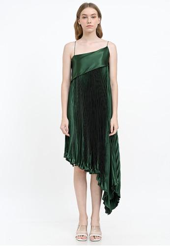 Ariane green Armani Dress Green 048B8AA5434240GS_1
