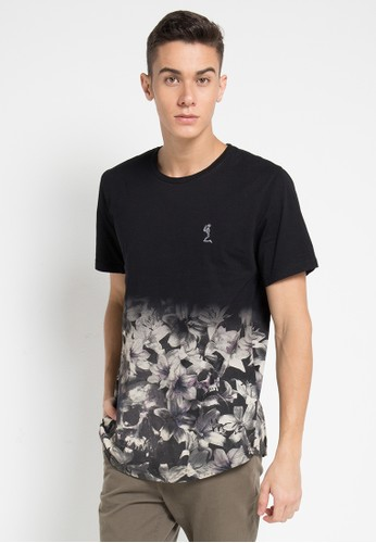 Religion black Rose Skull Fade Out Tee 1A3EAAA2DD65A8GS_1