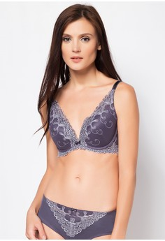 Quarter Cup Push-Up Bra