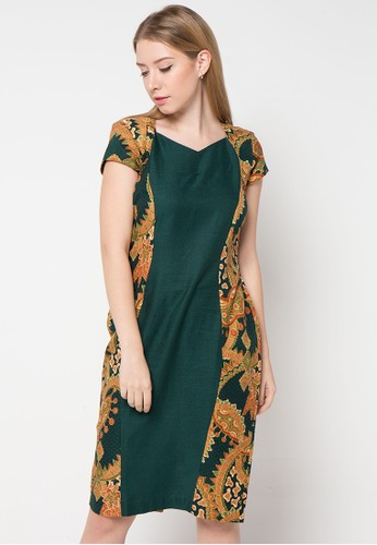 BATIK SEMAR green Sally Fielo Dress Db 45 Rfp Galar Tprn 60 BA020AA29HEKID_1