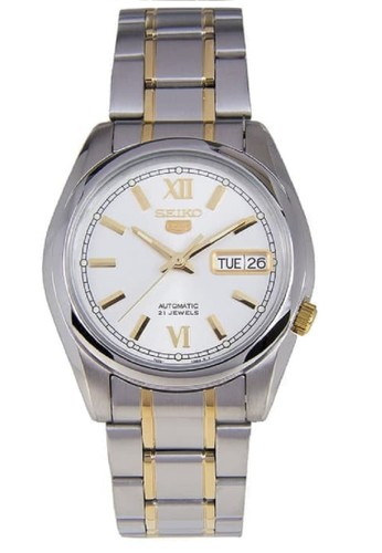 Seiko silver Seiko 5 Automatic 21 Jewels SNKL57K1 Stainless Steel Silver 147C7AC9E85C8FGS_1
