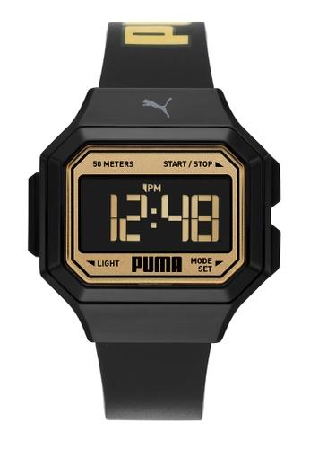 PUMA black Mini Remix Watch P1055 972FCAC7E7F7D5GS_1