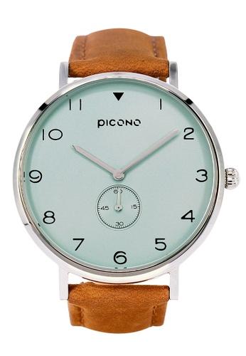 PICONO Watches green Spy S Unique Fashion Leather Strap Watch PI771AC2VUSNHK_1