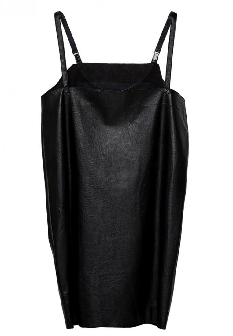 One Black Length Knee piece Cocktail NINETEENEIGHTY Leather 76UUZWt