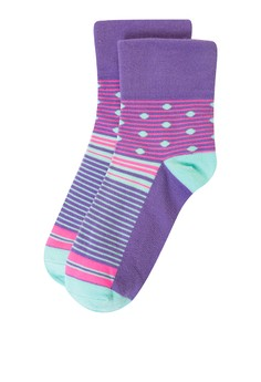 Epd Casual Garterless Socks