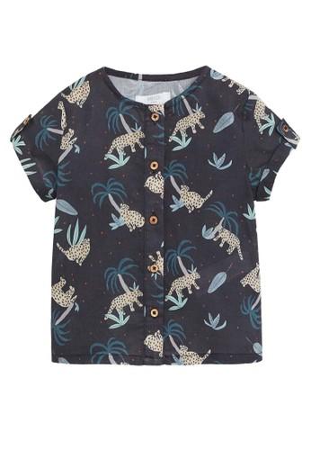 MANGO BABY black Leopard Print Shirt 6C0EFKA558BBA6GS_1