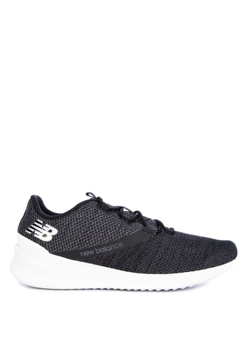 New Balance black Cush+ District Run Peformance Shoes 53BE6SHC4C9F09GS_1