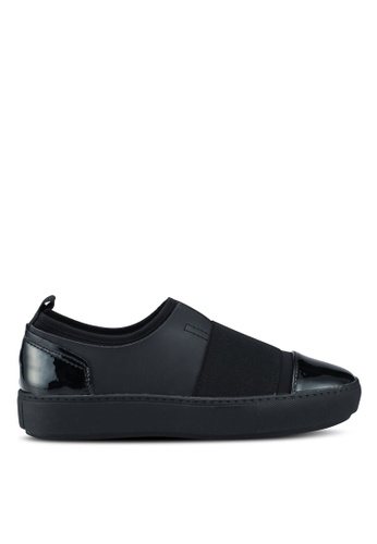 Keddo black Slip On Sneakers C6889SHACCBAAFGS_1