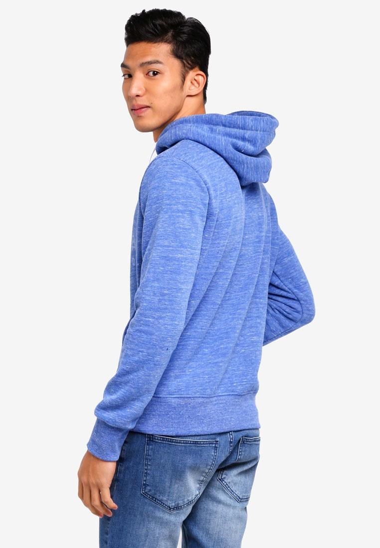 Premium Superdry Royal Hoodie Goods Urban Grit EAOErwx