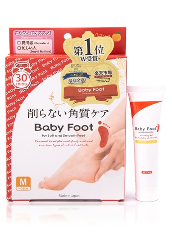 Babyfoot n/a Baby Foot Peel with Free Soothing Gel BA013BE09JWSPH_1