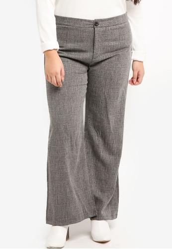 BYN black Lenin Cotton Bootcut Pants F0240AAB2ED4A4GS_1