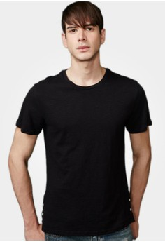 Casual Saturdays Side Button Tee