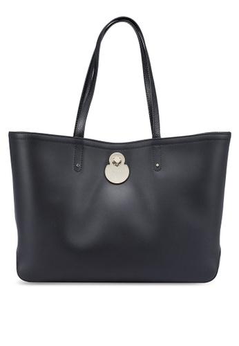 LONGCHAMP black Cavalcade Tote Bag (zt) EDA77ACA579511GS_1