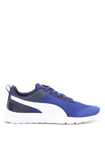 Puma blue Trax Trainers Sneakers PU758SH55PXSPH_1