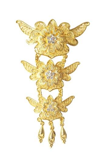 Benangsari gold Alana Brooch 9DDF2AC22D6C84GS_1