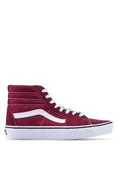 ad56b19713e VANS white and red Sk8-Hi Sneakers E2E58SH1213831GS_1